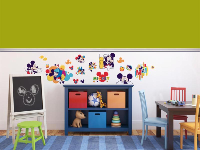 Disney Mickey Mouse stickers muraux multicolore