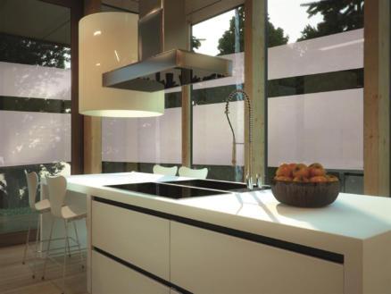 Milky zelfklevende folie raam 67,5cm x 2m
