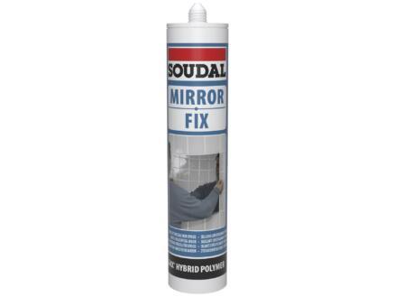 Soudal Mirror Fix colle miroir 290ml blanc