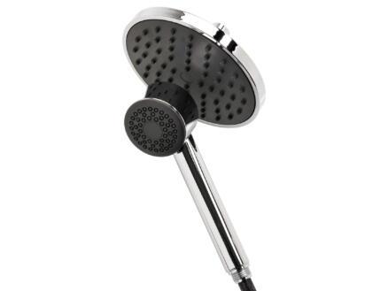 Differnz Mix & Match tête de douche + douchette éco gris