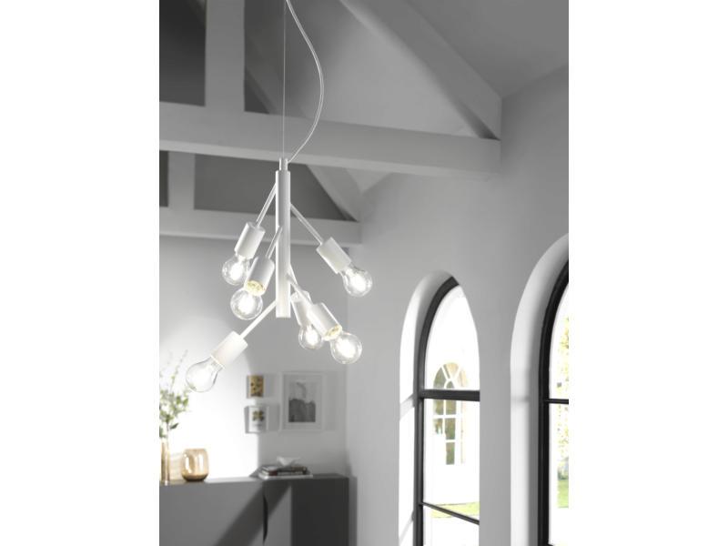 MEO Modena hanglamp E27 40W wit