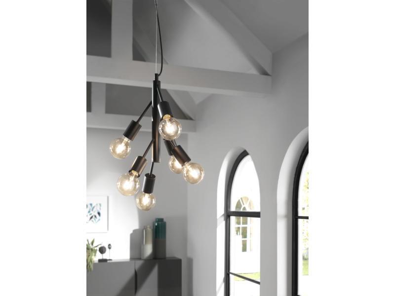 MEO Modena hanglamp E27 40W zwart