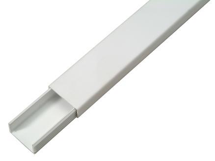 Profile Moulure autocollante 20x10 mm 2m blanc