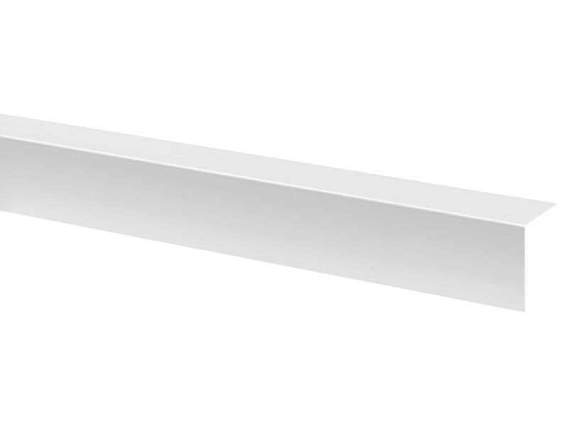Moulure d'angle 30x30 mm 260cm blanc