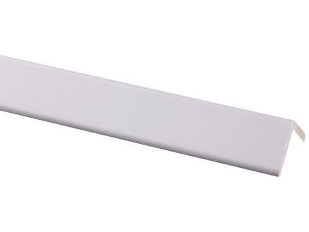 Moulure d'angle 34x34 mm 240cm pin prépeint