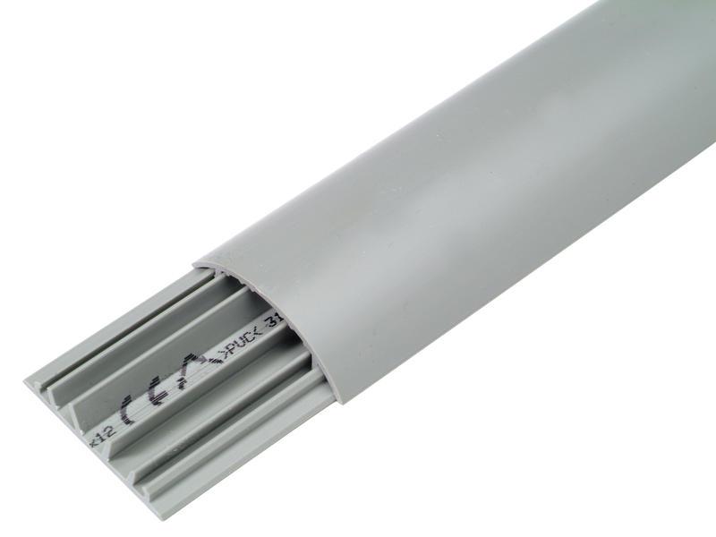 Legrand Moulure de sol 41x10 mm 2m gris