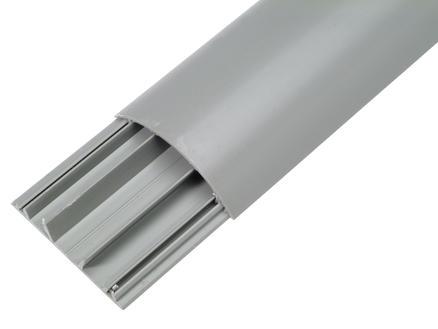 Legrand Moulure de sol 75x18 mm 2m gris