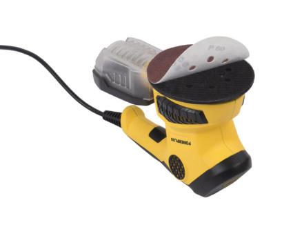 Powerplus Multiponceuse 3-en-1 POWX0485 260W + 12 feuilles de ponçage