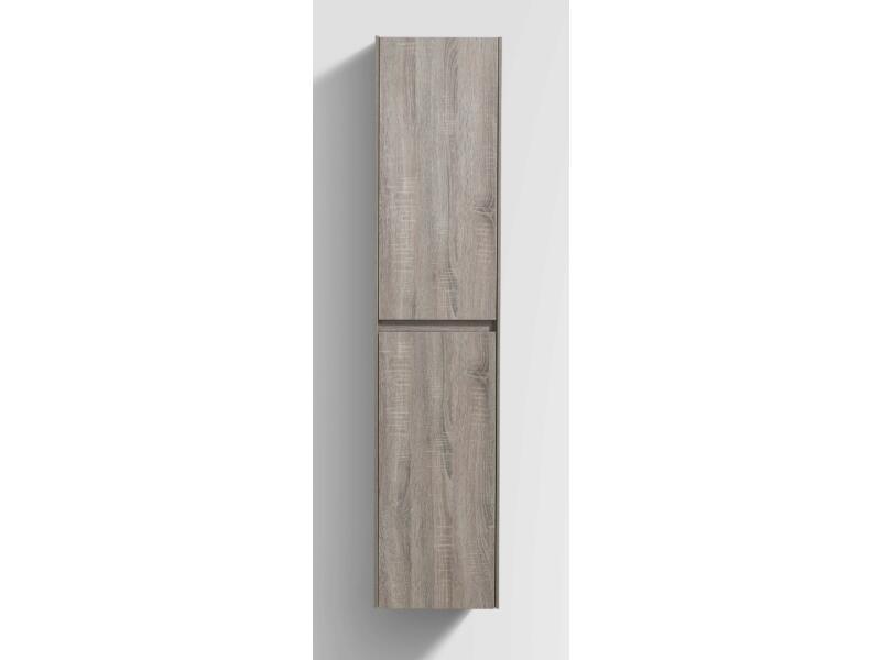 Aquatrends Murcia kolomkast 35cm 2 deuren omkeerbaar licht rustiek eiken