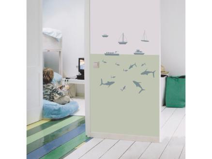 Art for the Home Muurstickers nautisch blauw