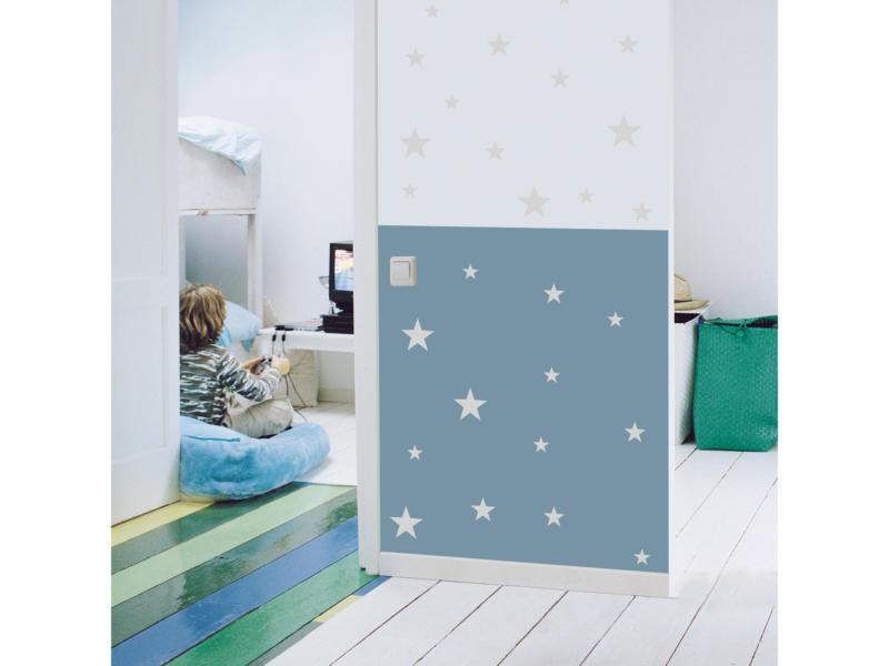 Art for the Home Muurstickers sterren lichtgrijs