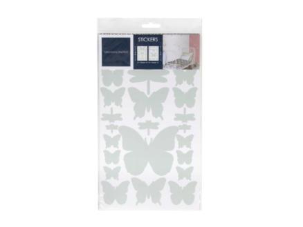 Art for the Home Muurstickers vlinders & libellen muntgroen