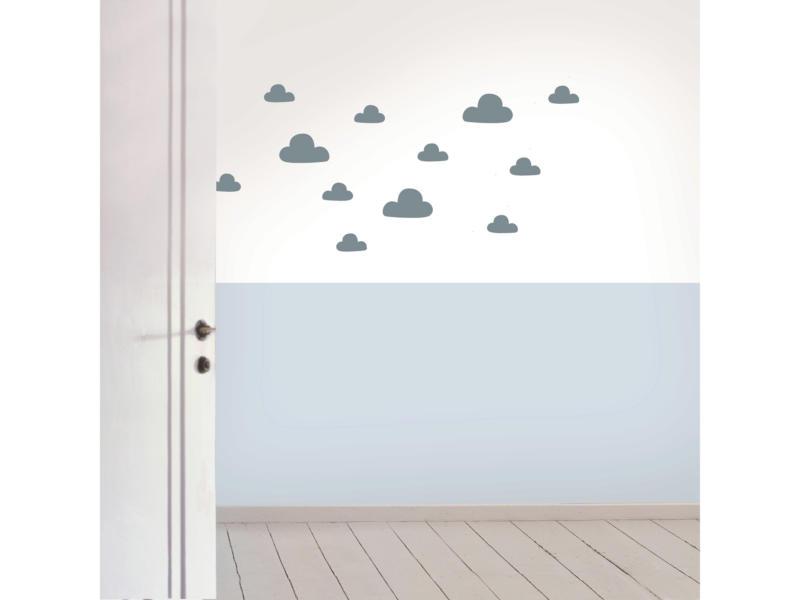 Art for the Home Muurstickers wolken blauw