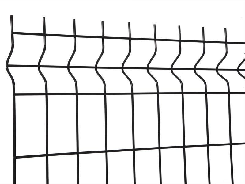 Giardino Napoli draadpaneel 200x122,5 cm zwart