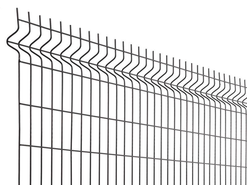 Giardino Napoli draadpaneel 200x172,5 cm antraciet