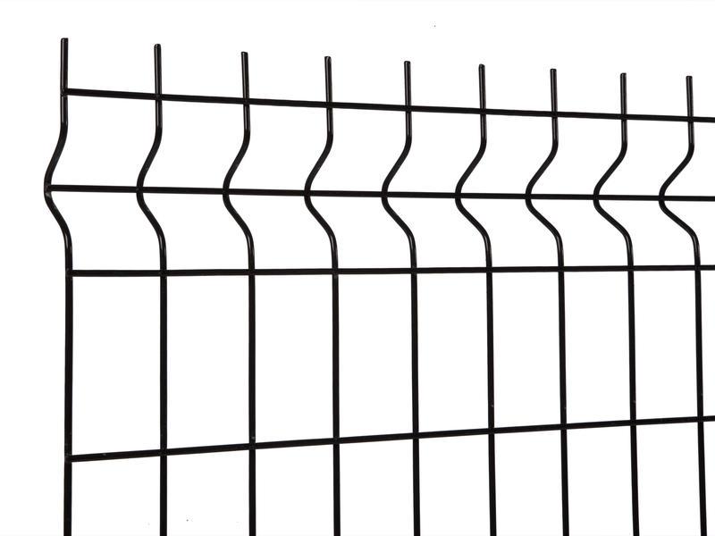 Giardino Napoli draadpaneel 200x83 cm zwart