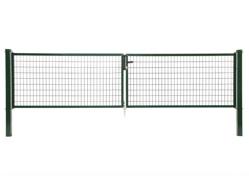 Giardino Napoli dubbele poort 300x60 cm groen