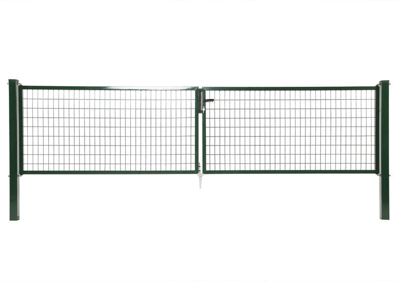 Giardino Napoli dubbele poort 400x100 cm groen