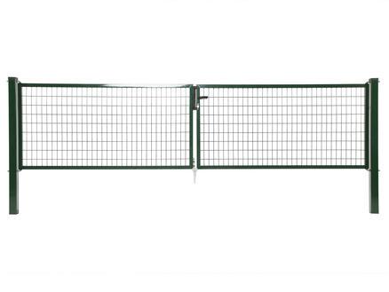 Giardino Napoli dubbele poort 400x150 cm groen