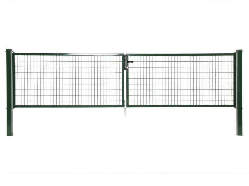 Giardino Napoli dubbele poort 400x200 cm groen