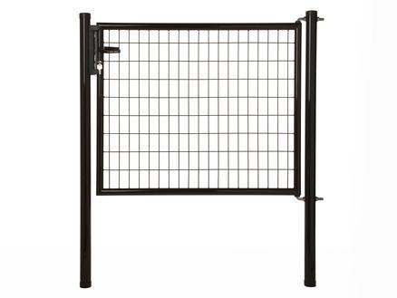 Giardino Napoli poort 125x120 cm zwart