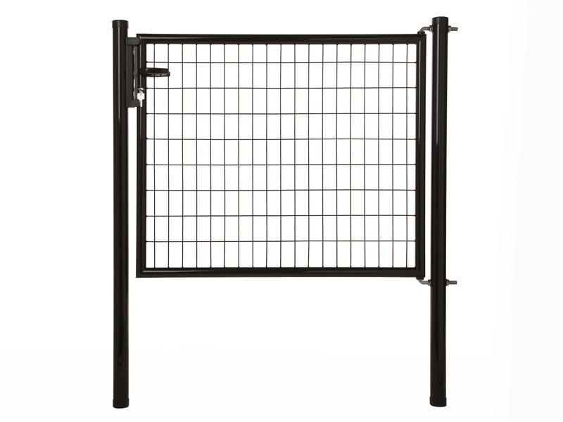 Giardino Napoli poort 125x170 cm zwart