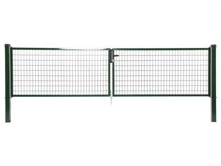 Giardino Napoli portillon double 400x100 cm vert