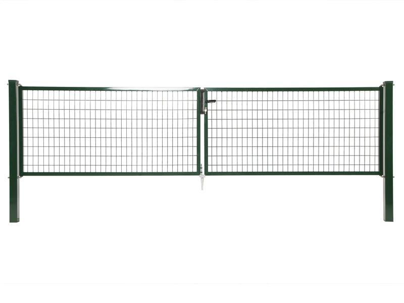 Giardino Napoli portillon double 400x150 cm vert