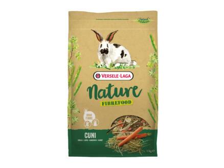 Nature Nature Fibrefood Cuni konijn 1kg