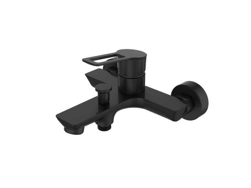Aquatrends Nero mitigeur baignoire et douche complet noir