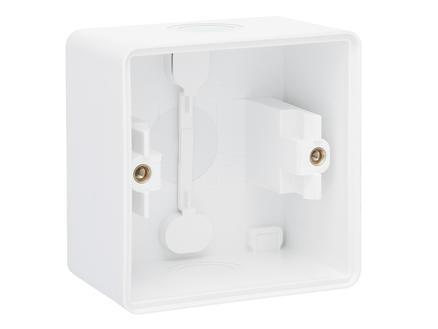Niko New Hydro doos met wurgnippel wit