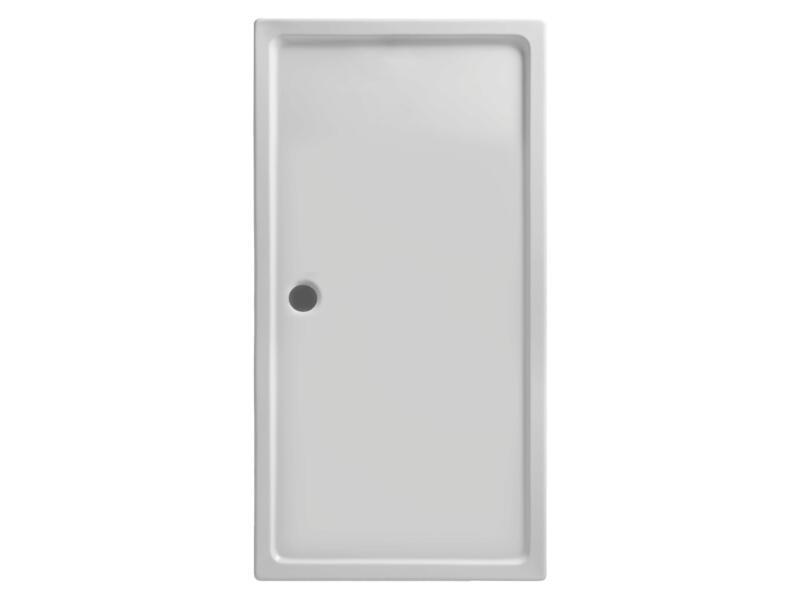 Lafiness Nilus receveur de douche 140x90x4 cm acrylique