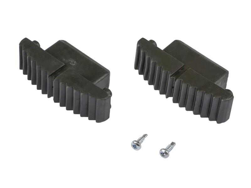 Escalo Nivodor inschuifvoetjes voor L-ladder 81mm 2 stuks