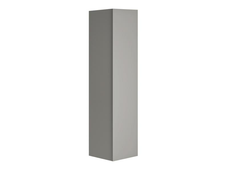 Allibert Nordik meuble colonne 40cm gris mat