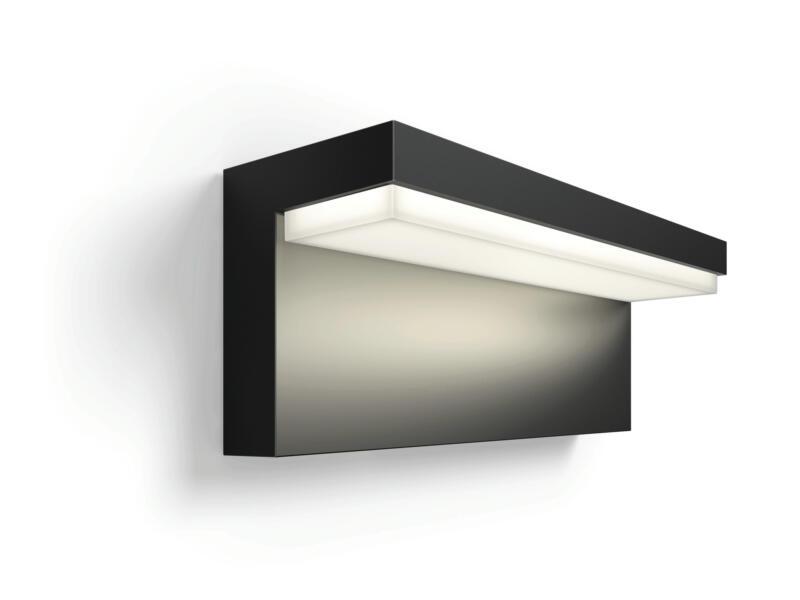 Hue Nyro White and Color Ambiance LED wandlamp 13,5W dimbaar zwart