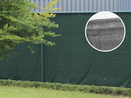 Giardino Ombra filet brise-vue 10m x 200cm gris