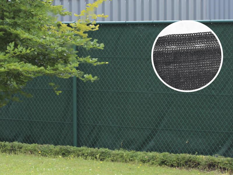 Giardino Ombra zichtdoek 10m x 100cm zwart
