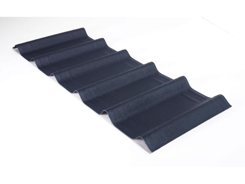 Onduline Onduvilla panneau de toit 107x40 cm 3mm 2,17m² slate grey