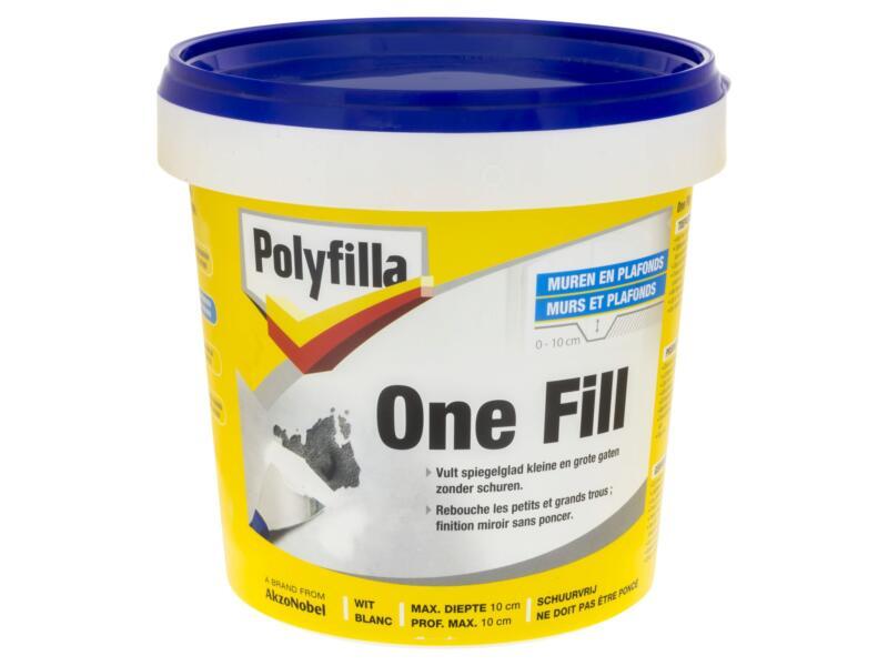 Polyfilla One-fill enduit de rebouchage 1l