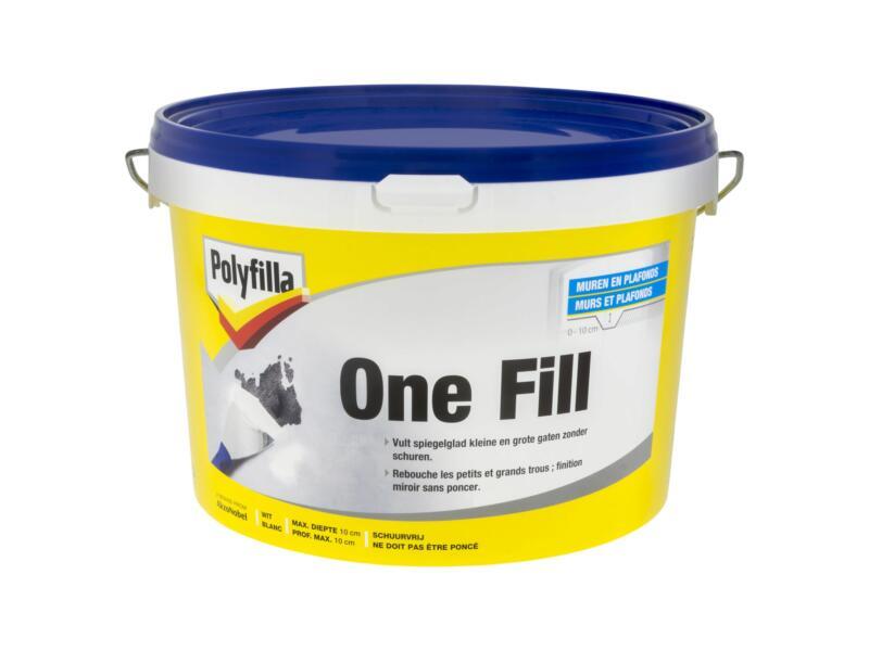 Polyfilla One-fill enduit de rebouchage 2,5l