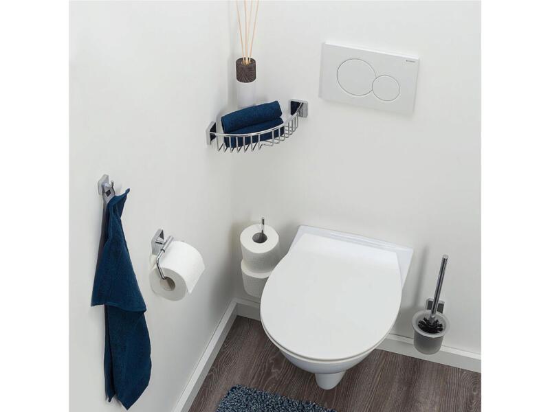 Tiger Onu WC-borstel met houder chroom