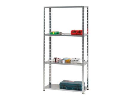 Practo Home Opbergrek 150x75x30 cm metaal