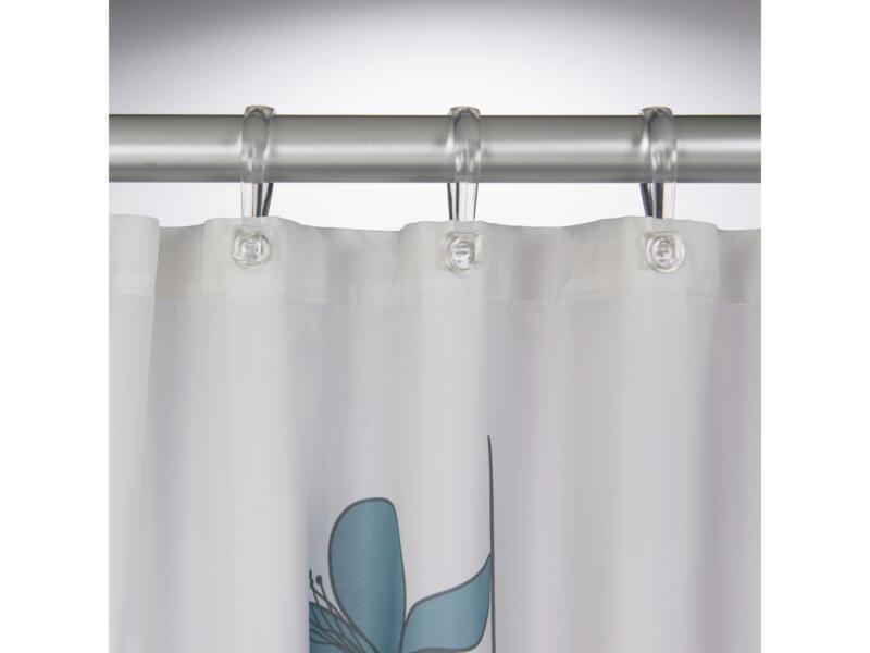 Sealskin Orchid rideau de douche 180x200 cm bleu