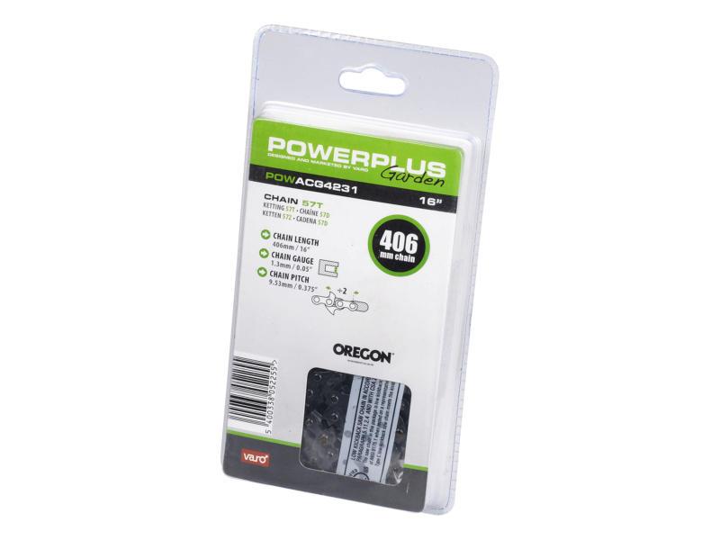 Powerplus Oregon chaîne de tronçonneuse 40,6cm 57 dents