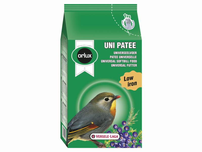 Orlux Uni Patee universeel voer 1kg