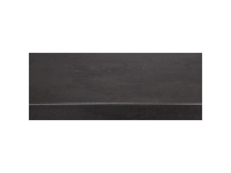 CanDo Overzettrede 130x38 cm beton antraciet