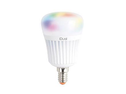 iDual P45 RGB ampoule LED E14 7W dimmable