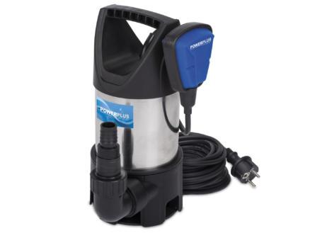 Powerplus POW67912 pompe vide-cave 400W eau chargée