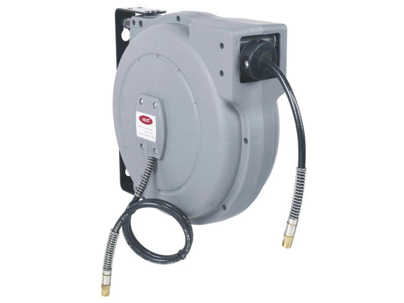 Powerplus Air POWAIR0215 enrouleur tuyau pneumatique 10m compresseur