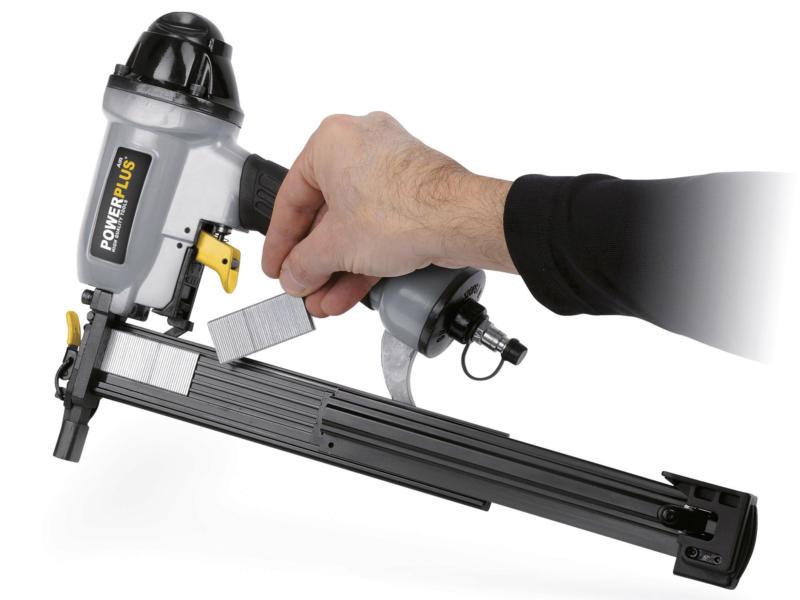 Powerplus Air POWAIR0310 pneumatisch niet- en nagelpistool